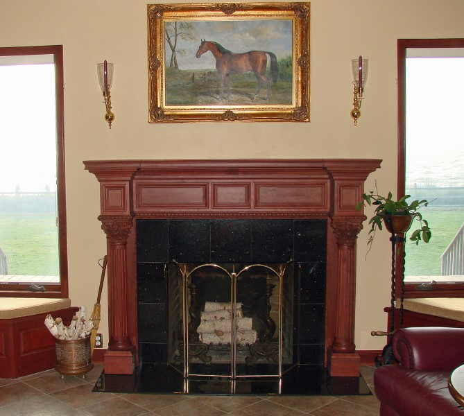 The Burlington Large Wood Mantel Buy Fireplace Mantel