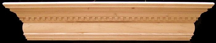 Santa Clarita Fireplace Mantel Shelf