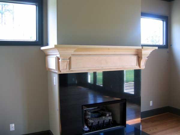San Clemente Fireplace Mantel Shelf