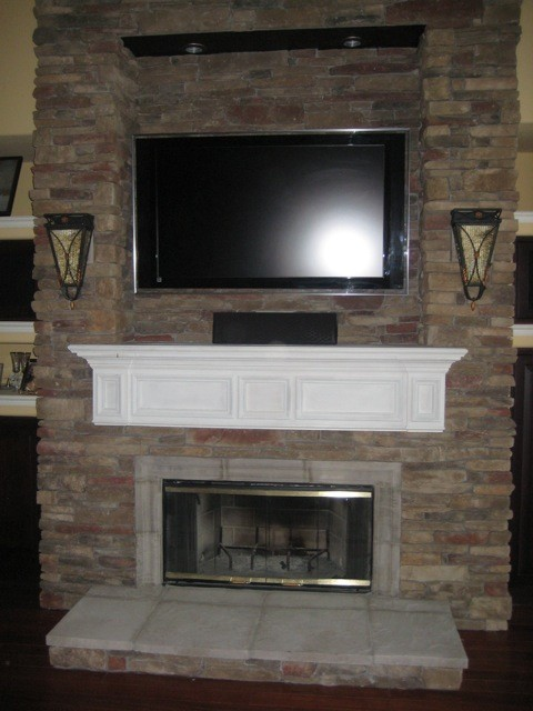 San Diego Fireplace Mantel Shelf