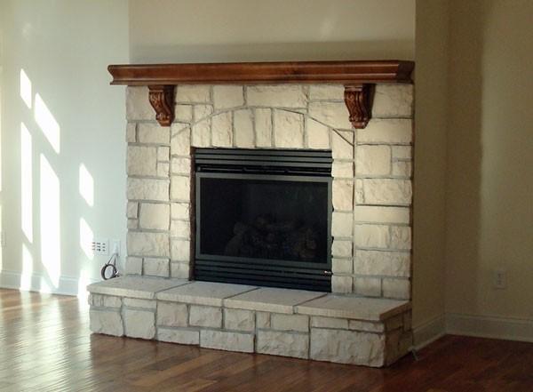 San Francisco Fireplace Mantel Shelf