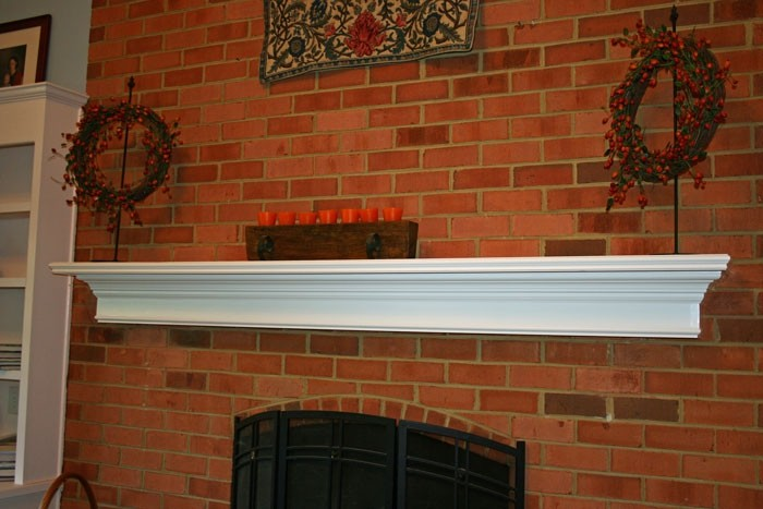 Santa Ana Fireplace Mantel Shelf