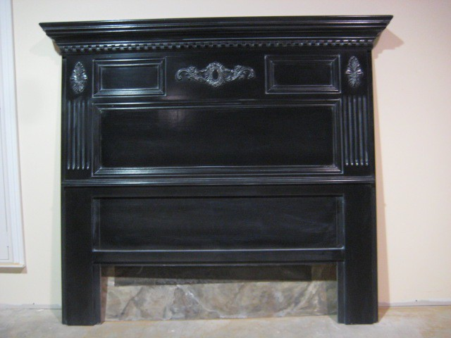 The Harrisburg Mantel Headboard