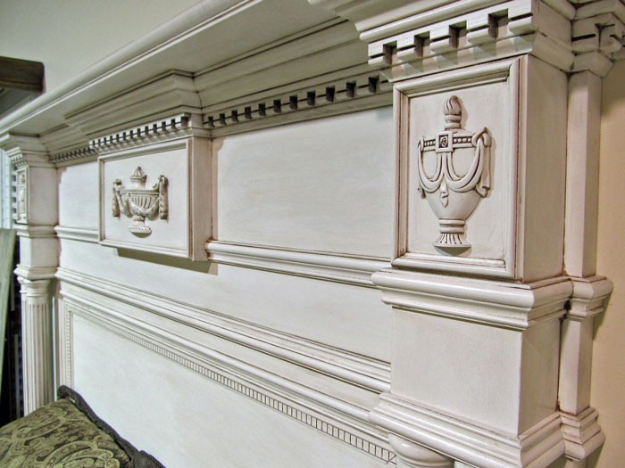 The Lewisburg Mantel Headboard
