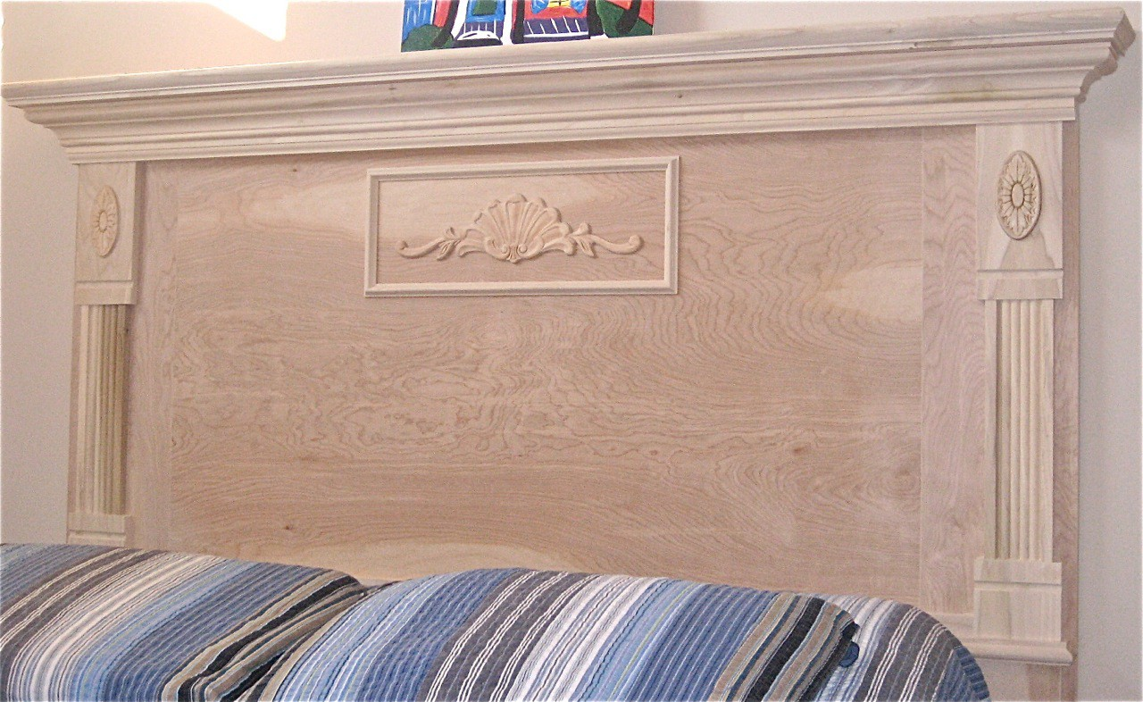 The Marion Mantel Headboard