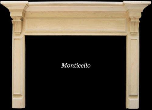 The Monticello Mantel