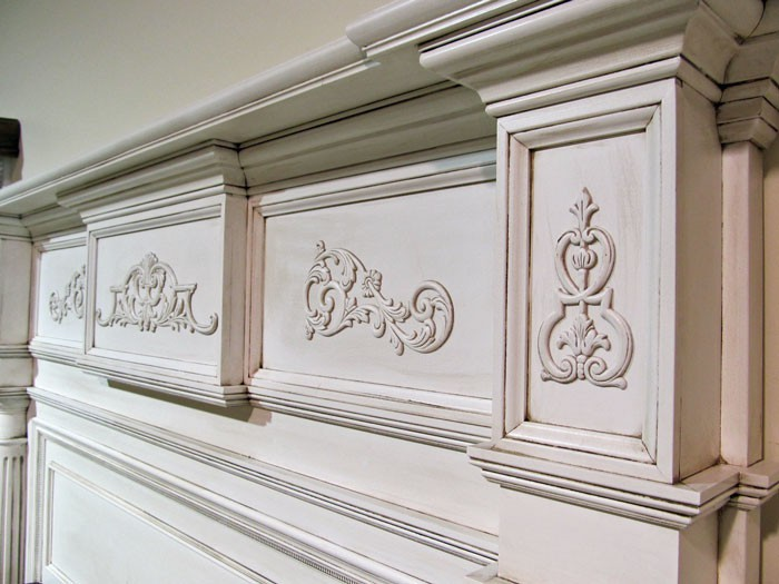 The Nashville Mantel Headboard