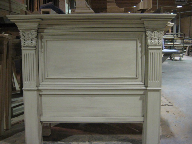 The St. Petersburg Mantel Headboard